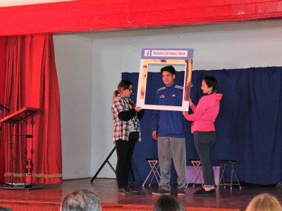 Senda O'Higgins lanza programa de Alcohol en la comuna de Machalí