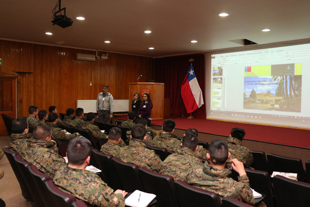SENDA Aysén capacitó a funcionarios del Ejército como monitores en prevención del consumo de drogas y alcohol