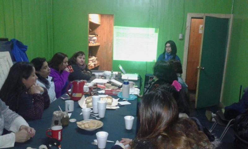 SENDA Previene Valdivia implementa programa preventivo en Agrupación Ainil Domo