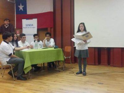 Estudiantes de la región debatieron en torno a temáticas de prevención del consumo de drogas y alcohol