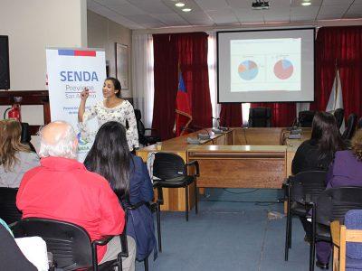 SENDA Previene San Antonio capacita a profesionales de establecimientos educacionales de la comuna