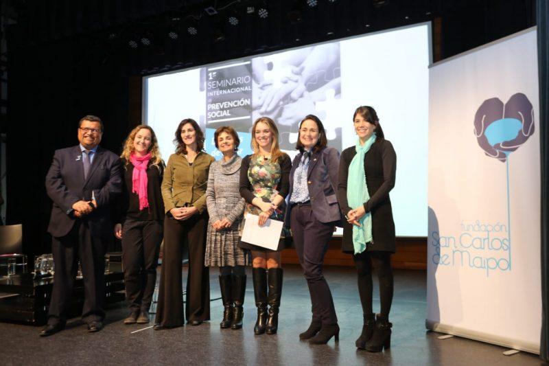 SENDA participó en clausura de seminario internacional de prevención social «Dejemos de llegar tarde»