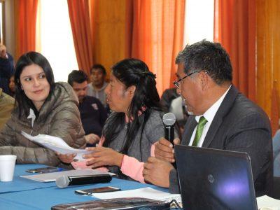 Senda Previene participa activamente en el Consejo de seguridad comunal