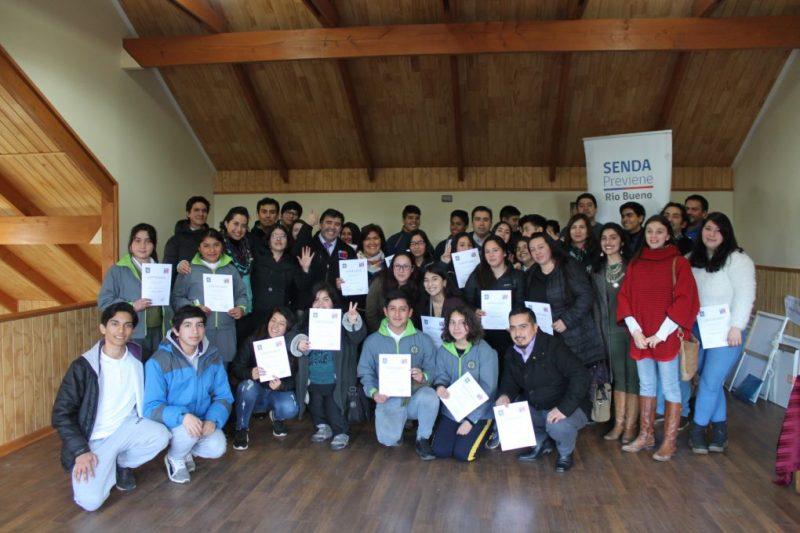 SENDA Previene Río Bueno desarrolló la 1ª Jornada de Prevención para Estudiantes y Cabildo Comunal