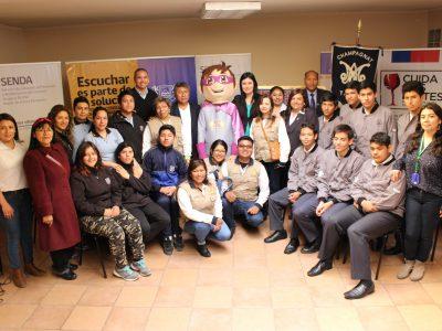 Jóvenes líderes de Arica y Tacna debaten temáticas de alcohol y drogas
