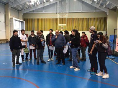 """Liceo Constitución realizó primeras batallas de Freestyle denominadas """"Policeo"""""""