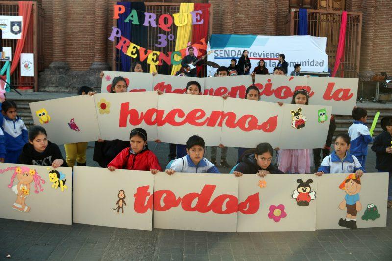 Cientos de personas participaron en el Tercer Parque por la Prevención que promueve estilos de vida saludable en Putaendo