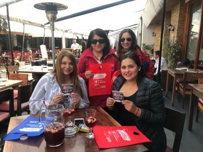 Durante Fiestas Patrias, SENDA Previene Ñuñoa realizó diversas actividades de sensibilización respecto al consumo responsable de alcohol en su comuna