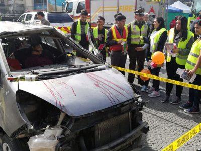 """SENDA Valparaíso anuncia Plan de Fiscalización a Conductores """"Tolerancia Cero"""" durante Fiestas Patrias en el marco de la 1° Feria de protección Civil y Seguridad Vial de la región"""