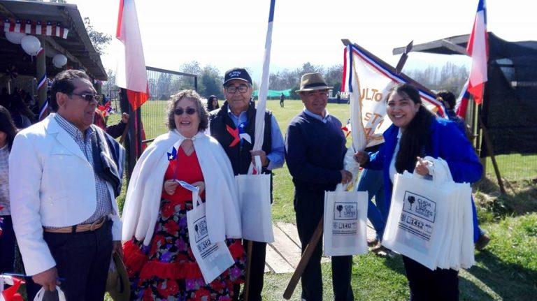 SENDA Previene Teno realizó diversas actividades preventivas enmarcadas en la celebración de Fiestas Patrias