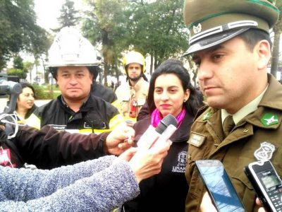 Linares: organismos de emergencias se suman a campaña preventiva para Fiestas Patrias