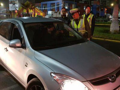 Sin víctimas fatales relacionadas a la conducción y consumo de alcohol culminaron las Fiestas Patrias en Tarapacá