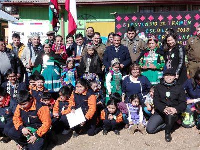 SENDA Araucanía realiza exitoso segundo Trawun Interescolar Preventivo
