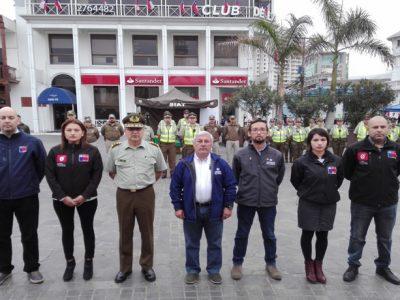 Presentan operativo de seguridad y tolerancia 0 al alcohol durante Fiestas Patrias en Tarapacá