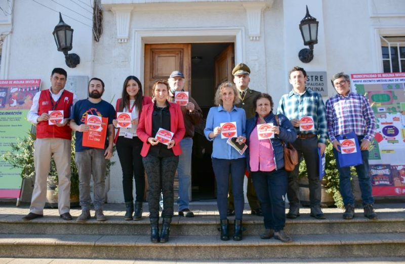 Botilleros de Molina firman compromiso de cara a Fiestas Patrias
