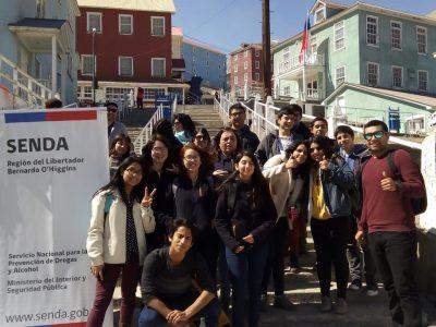 Alumnos ganadores de Debate Estudiantil de Senda conocen Sewell