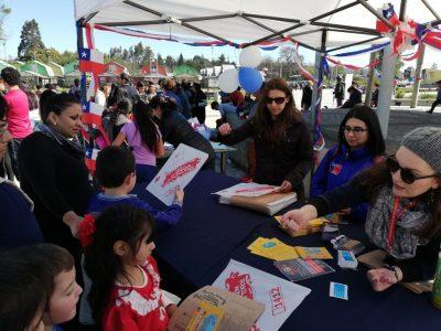 SENDA Previene Valdivia participó en celebración de Fiestas Patrias junto a vecinos del sector Brisas de Guacamayo