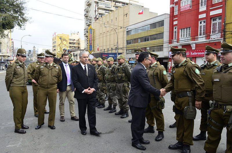 Autoridades de Valparaíso informaron acerca del despliegue de seguridad y tolerancia cero en la conducción con alcohol durante estas Fiestas Patrias