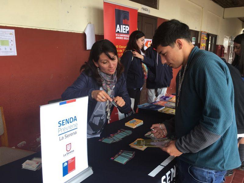 La prevención se instala en los colegios de La Serena