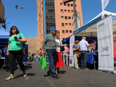SENDA Arica-Parinacota se sumó al Día Nacional sin Auto con información preventiva