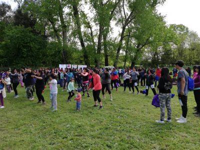SENDA Previene Teno junto a la red comunal realizaron la 9ª Caminata Familiar Inclusiva «Jesús Opazo»