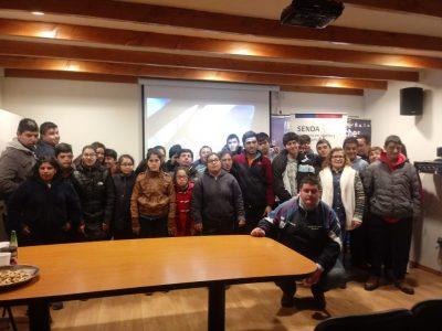 SENDA Previene San Clemente realizó ciclo de cortometraje con estudiantes de la escuela de diferencial
