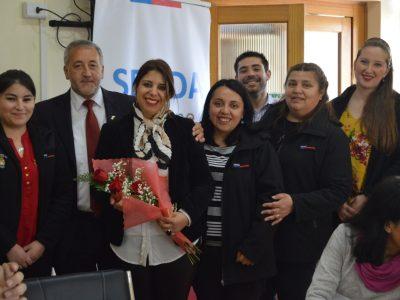 Directora de SENDA Araucanía se reúne con alcalde de Angol