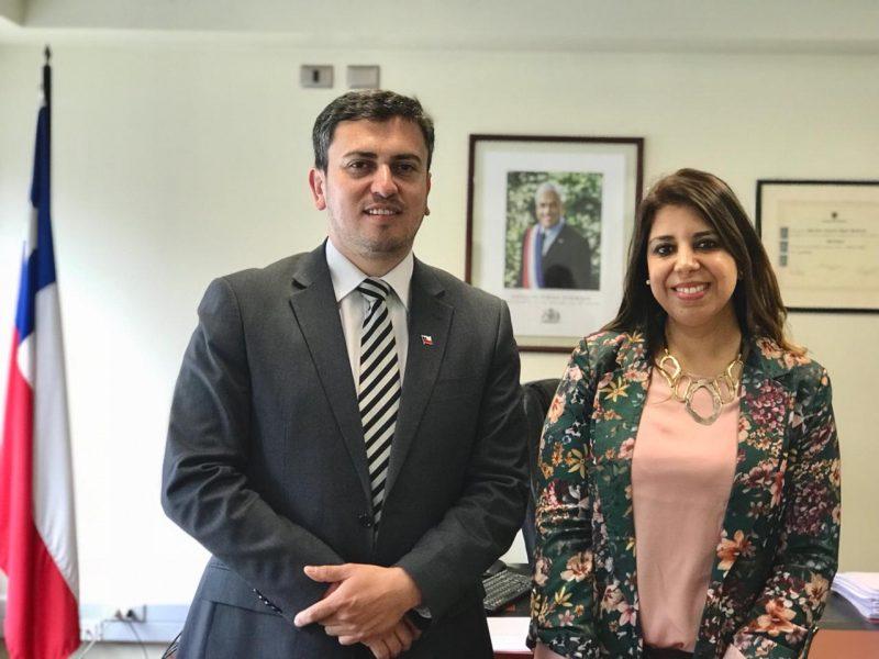 Gobernador de Cautín da la bienvenida a nueva directora SENDA Araucanía