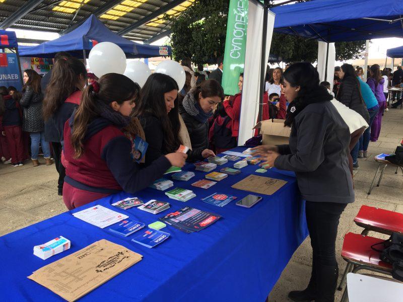 SENDA Previene Cauquenes participó en feria de promoción de la actividad física y el deporte del IND