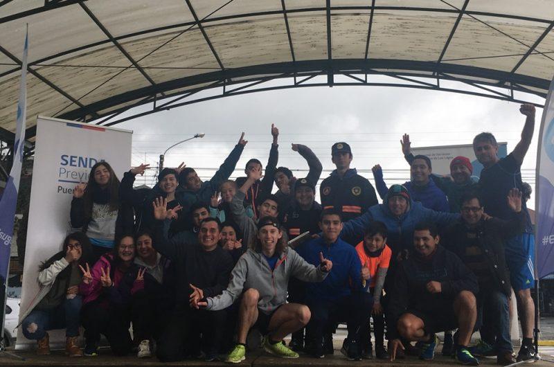 Integrante del COSOC de SENDA Los Lagos organizó Corrida Atlética Familiar y Escolar en Puerto Varas