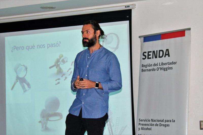 Dr. Rodolfo Neira dictó charla a empresas adscritas a los programas de SENDA O'Higgins