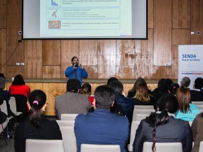 Se dictó seminario sobre el consumo abusivo de alcohol para los encargados de Seguridad Pública de los 30 municipios del Maule