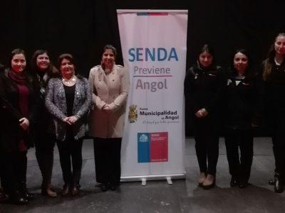 SENDA Araucanía realiza seminario de parentalidad en Angol