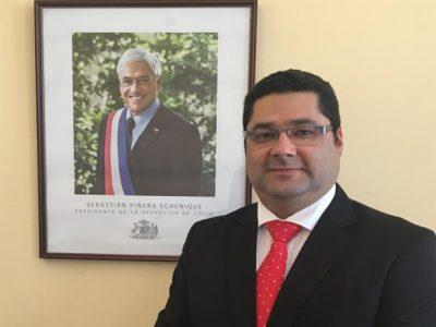 El psicólogo Claudio Jiménez asume como director regional de SENDA Tarapacá