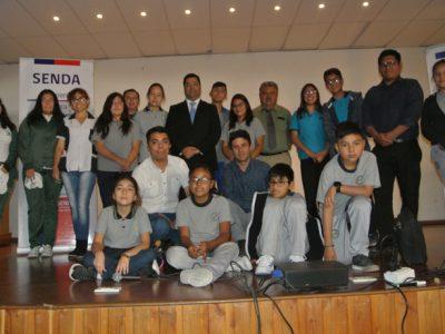 Promueven competencias preventivas en líderes estudiantiles del Tamarugal