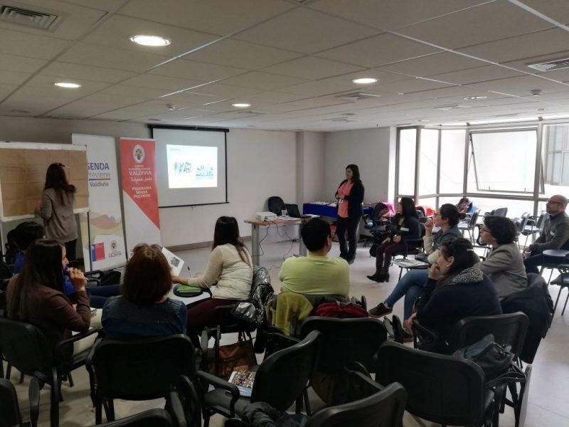 SENDA Previene Valdivia realizó Mesa Intersectorial de Integración Social