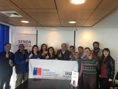 COSOC de SENDA Los Lagos se reunió para trabajar en torno a la prevención del consumo de drogas y alcohol