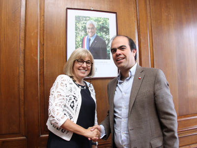 Director de SENDA sostiene reunión de trabajo con directora del Programa Copolad