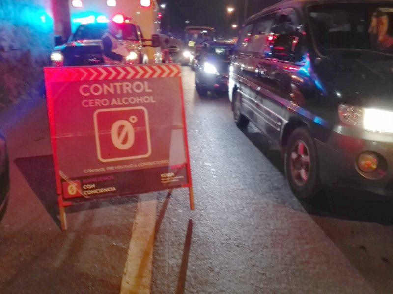 Sin accidentes fatales relacionados a la conducción y consumo de alcohol culminó el fin de semana largo en Tarapacá