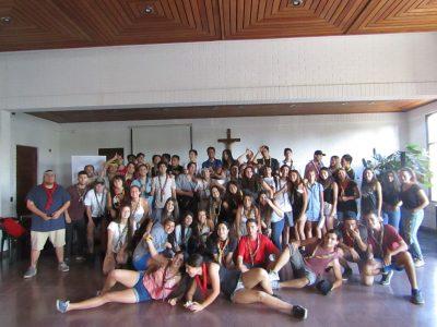 Grupo Scout de Vitacura participó en jornada de reflexión sobre los riesgos del consumo de drogas