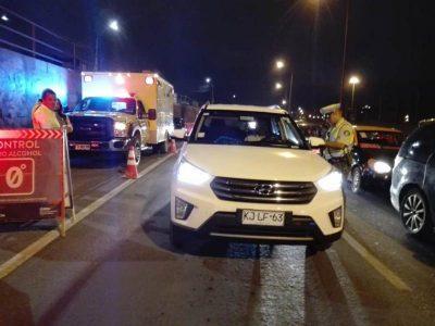 SENDA y Carabineros reforzarán controles preventivos a conductores durante fin de semana largo