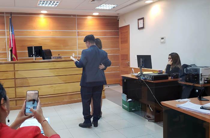 Joven egreso de Tribunal de Tratamiento de Drogas en Tarapacá