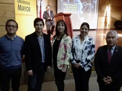 SENDA Araucanía y Universidad Mayor Temuco advierten los peligros del consumo de drogas y alcohol en el embarazo