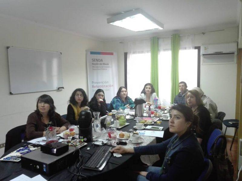 Consejo de la Sociedad Civil del SENDA Maule realizó la última sesión del año
