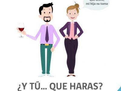 """""""Y TU… ¿QUE HARÁS?""""  es el llamado que hace SENDA a los padres para prevenir el consumo de alcohol en sus hijos"""