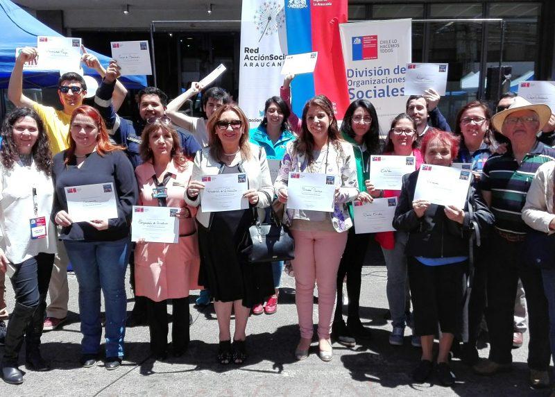 SENDA Araucanía se suma a reconocimiento por el Día del Voluntariado