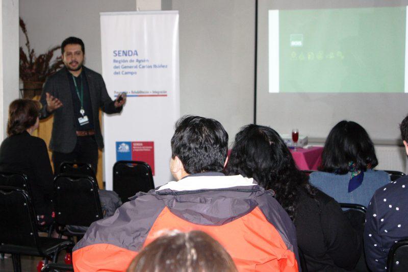 Senda Aysén Realizó Jornada de Buenas Prácticas Laborales del Programa Trabajar con Calidad de Vida