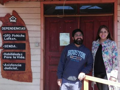 Directora Regional del SENDA Araucanía visita comuna de Saavedra