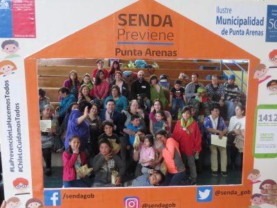 Vecinos de Punta Arenas se capacitaron en habilidades parentales para la prevención del consumo de alcohol y otras drogas