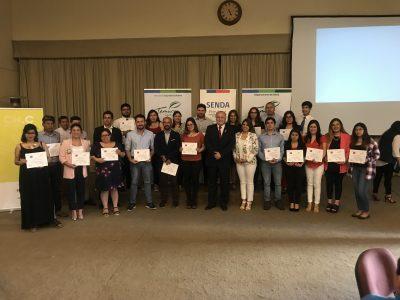 SENDA Araucanía distingue mejores iniciativas preventivas laborales 2018